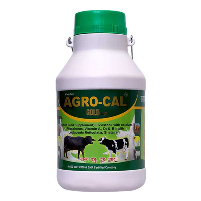 Agrocal Gold Ad3 Manufacturers Best Herbal Veterinary Medicine in Nashik