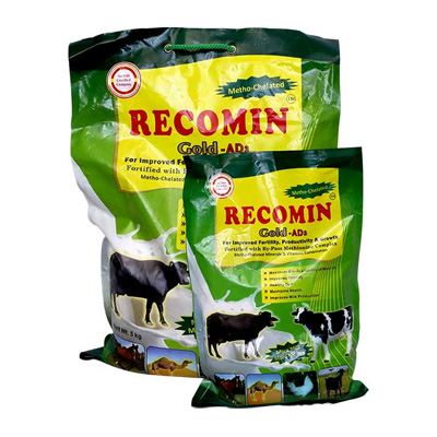 Recomin Gold Ad3 Manufacturers Best Herbal Veterinary Medicinet In Nashik